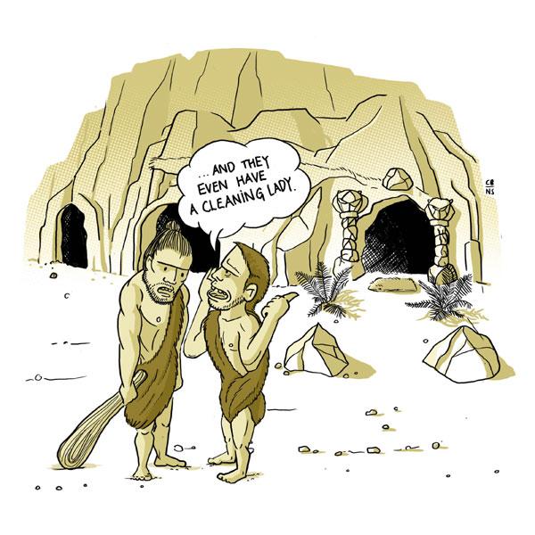 Cavemen-Web